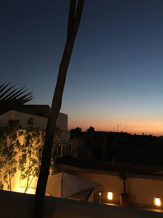 Riad Adore: rooftop view