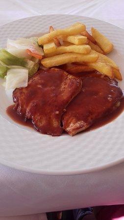 Restaurante Linares 4: Pork Fillet with Red Wine Sauce