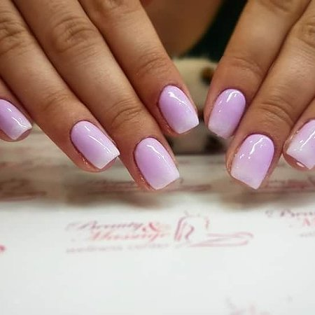 color s027 / ombre s003 acrylic nail tech  picture of