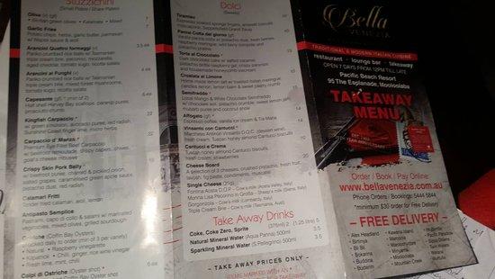 Bella Venezia Restaurant & Bar: Crispy pork belly very nice although a smaller serving may have suited me better