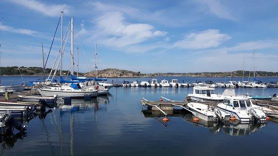 Southern Goteborg Archipelago: Styrsö Tangen marina views.