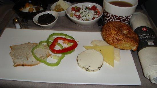 Turkish Airlines, бизнес-класс