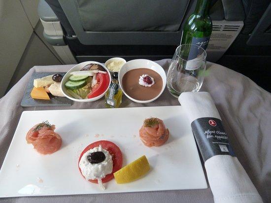 Turkish Airlines: Vorspeise