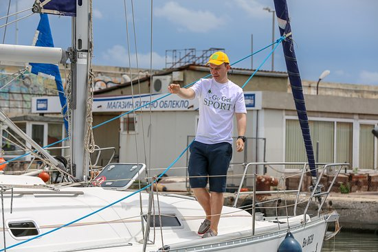 Good Captain by Go Get Sport: Main yacht Instructor of the GoGetSport - Maxim Gasumyants