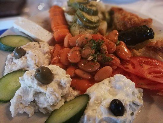 Syrtaki: Vegetarische schotel