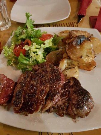 Cantina & Cucina: great steak