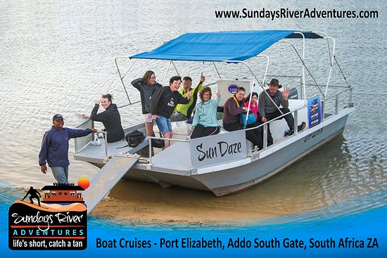 Colchester, South Africa: River cruises on the beautiful Sundays River