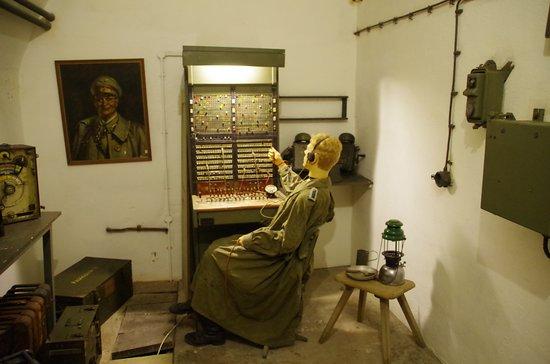 Jersey War Tunnels - German Underground Hospital: Radio Operator