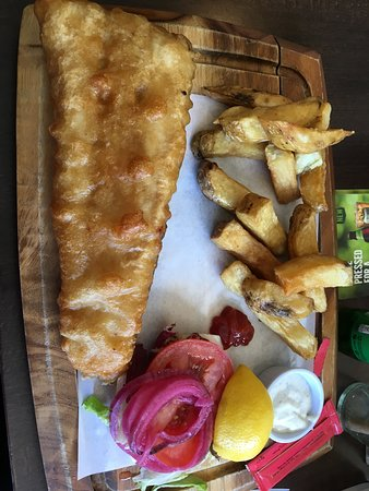 The Patriots Inn: Fish and Chips