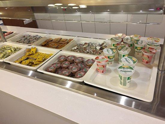 Jezero Hotel: 早餐果醬跟優格