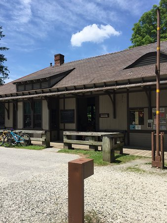 Maryland: Monkton train station