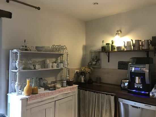Domaine Du Moulin: Espace petit déjeuner
