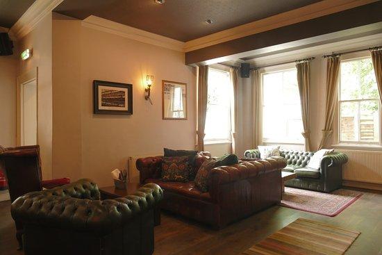 The Telegraph Pub: a very comfortable corner