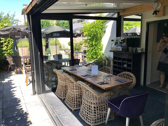 Open Veranda And View On Terrace Picture Of A L Ouest Chelles Tripadvisor