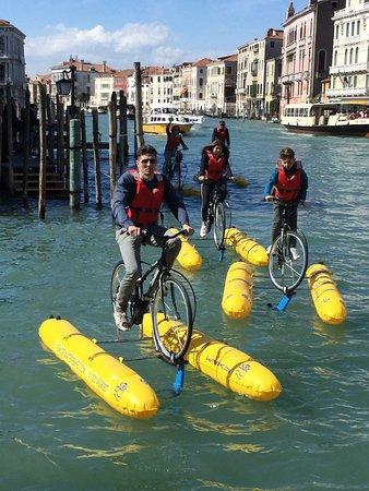 Venice Water Bike: giornata in famiglia