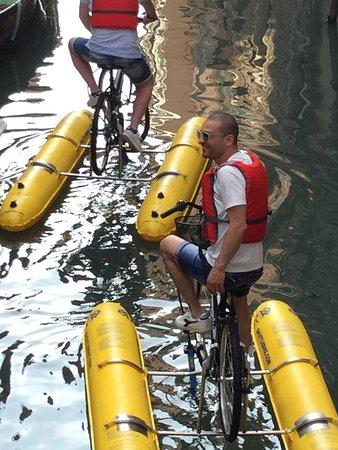 Venice Water Bike: venice bike tour