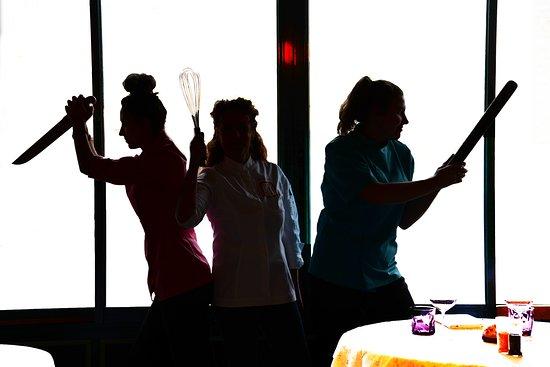 Le Vaudesir: les 3 drôles de Dames du Vaudésir