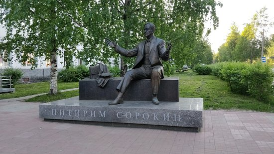 Monument to Pitirim Sorokin