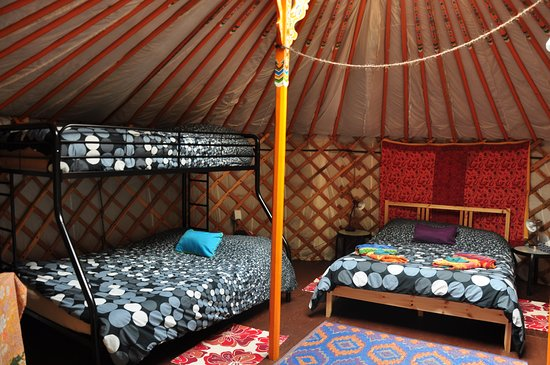 Cabot Shores Wilderness Resort and Retreat: Forest Yurt