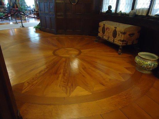 Stan Hywet Hall & Gardens: Beautiful floor design