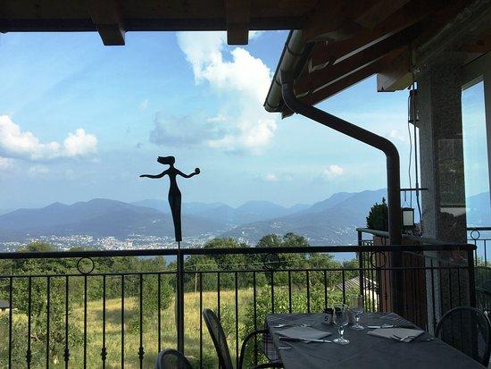 Ristorante Usignolo: toller Ausblick von der Terasse