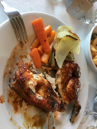 Ristorante Usignolo: leckeres Hühnchen