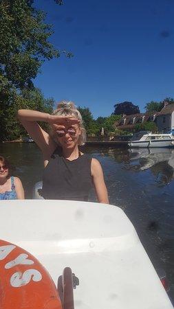 Godmanchester, UK: Ahoy