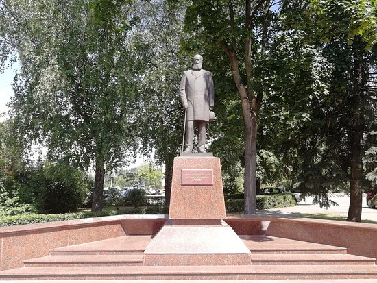 Monument to Mitrofan Klyuyevu