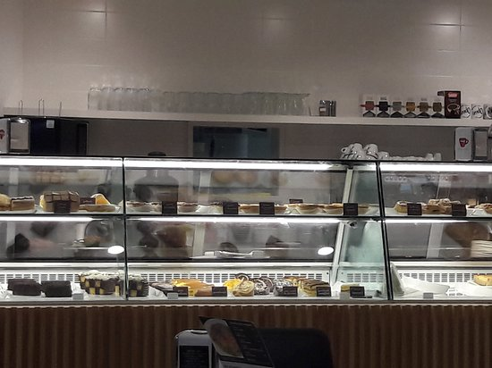 Opan: wide choice of cakes