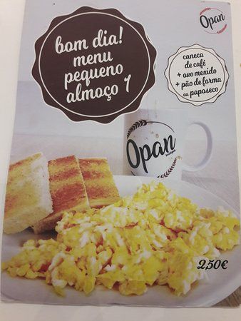 Opan: scrambled eggs