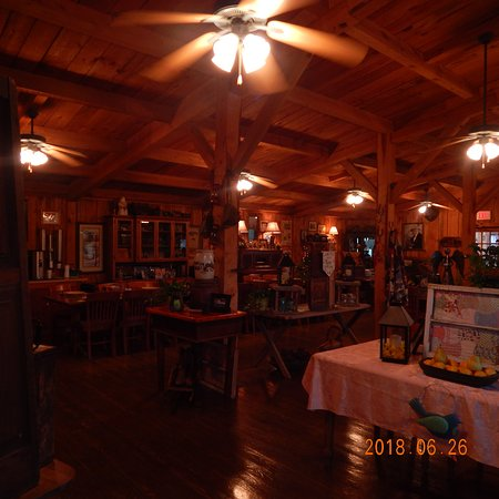 Del Rio, TN: The dining Hall at the Ranch