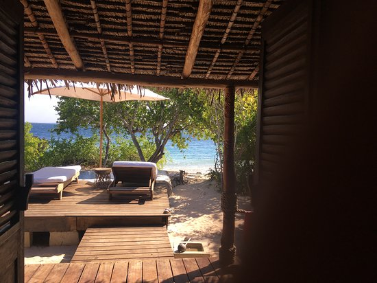 Quilalea, Mozambique: View from room