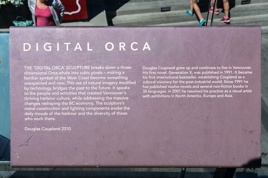 Digital Orca: Stry Behind the Sculpture & Artist