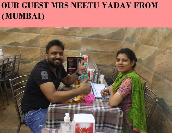 Charming Chicken: OUR GUEST FROM (MUMBAI)