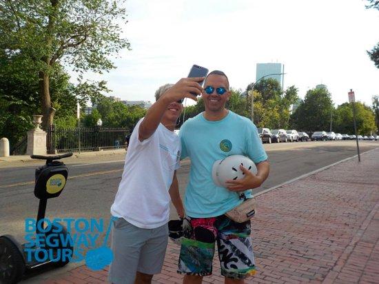 "Boston Segway Tours: Get your #Segway #Selfie on w/the ""best way to see the city"" - #Boston #Segway #Tours! www.bosto"
