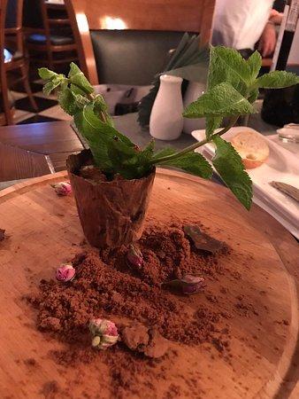 Jazz-Cafe Stary Royal: Шоколадный десерт