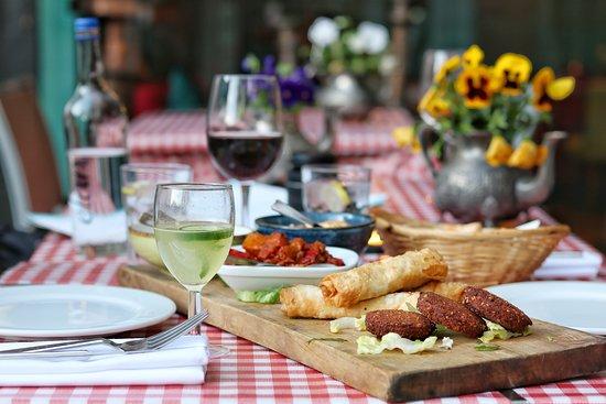 Lokma Turkish Grill & Bar: Mezze Platter
