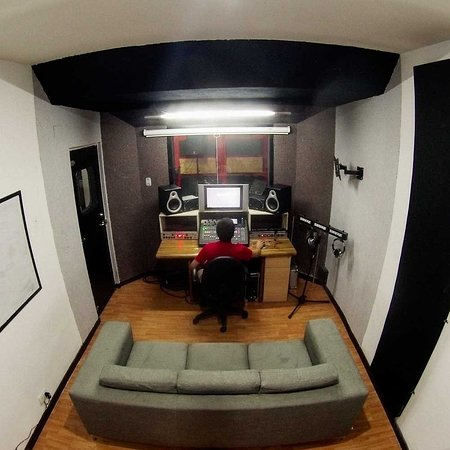 The Hall of Rock: Estudio de grabacion Vista 1