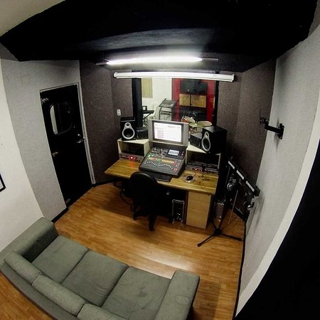 The Hall of Rock: Estudio de grabacion Vista 3