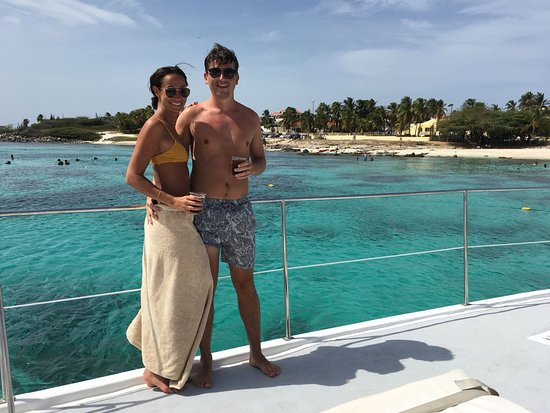 Octopus Sailing Charters: Octopus Aruba Sailing and Snorkeling Caribbean Crystal Clear Water Cocktails