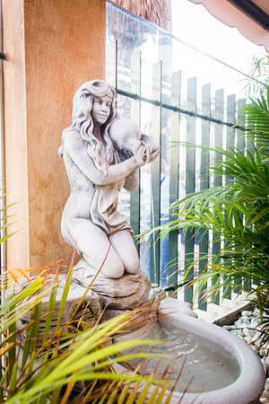 Garibaldi Restaurant: garden