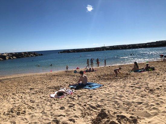 Playa Dorada Beach: view of the sea