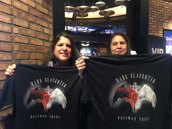 Rock & Brews: Slaughter was so good on June 29, 2018, we had to get some t-shirts!