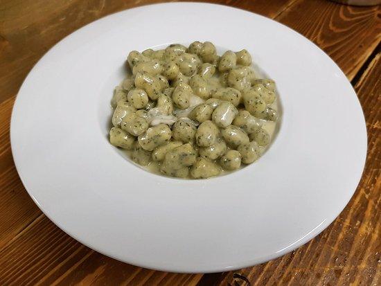 Ca' di Ratt: Gnocchetti alle Ortiche con Gorgonzola