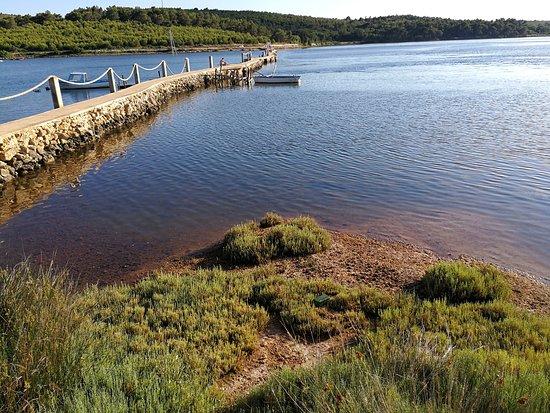 Scuza Pomer Croatia: path across the bay
