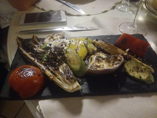 Il Cavolo a Merenda: verdure grigliate