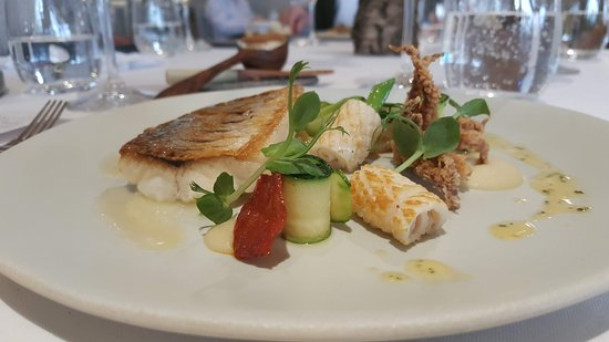 La Colombe: fish something