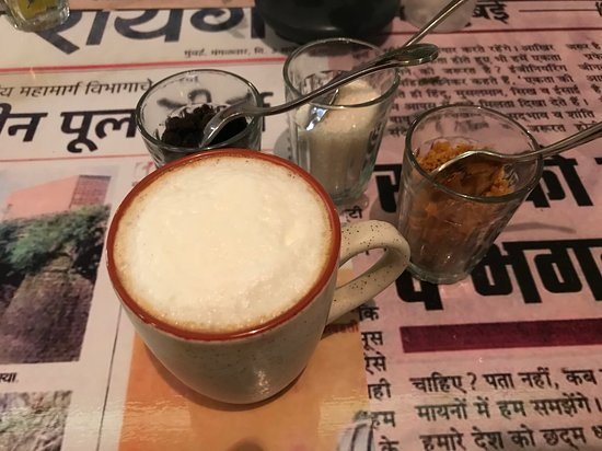 The Chikoo Tree Project: Cappucino