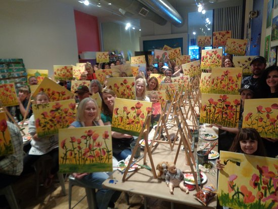 Boulder, CO: Family Painting Class!