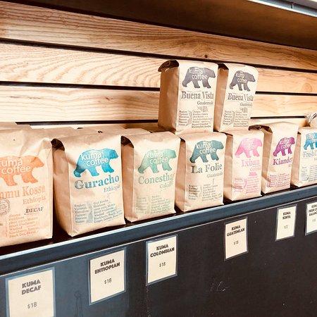 Sugar Bakery & Coffeehouse: Kuma Coffee
